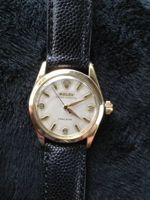 A Rolex Gold Fill Boys Watch ,