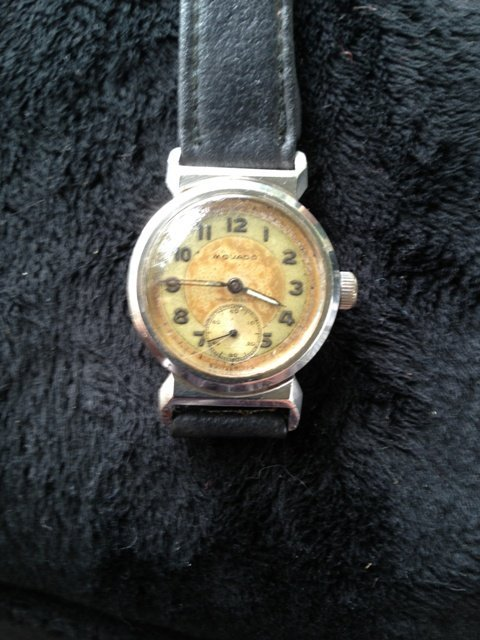 A Movado Boys Sport Watch c 1960,