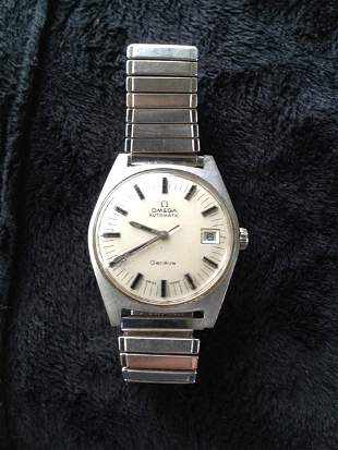 A Omega Gents Automatic Stainless Steel Watch c 1960,