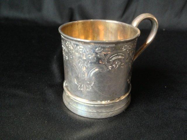 A Edwardian Sterling Silver Christening Mug,