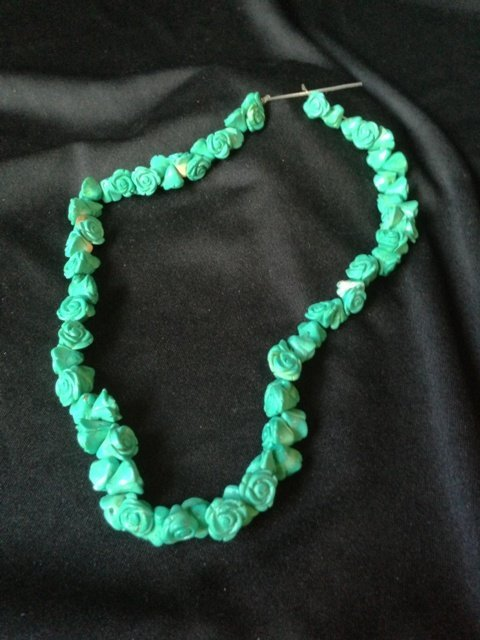 A Strand of Turquoise Beads,