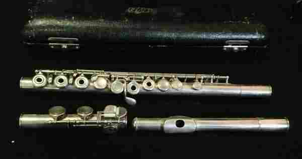 A German 900 Silver Standard Flute