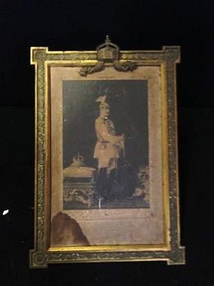 A Signed Photograph of Kaiser Wilhelm II ,