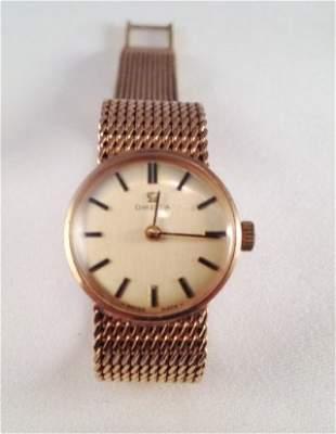 A 14 Carat Omega Ladies Watch ,