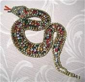 A Vintage Czechoslovakian Figural Costume Jewellery