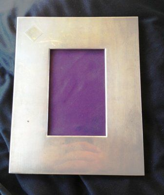 A Ralph Lauren Sterling Silver Mounted Photo Frame