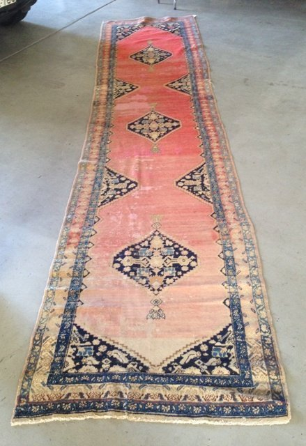 An Antique Wollen Runner