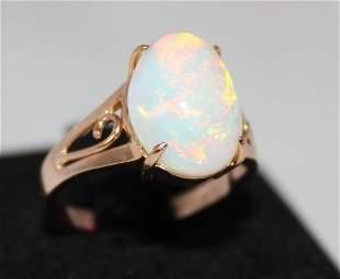 An Rose Gold Ladies Dress Ring,