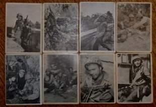 COMBAT CARDS 1963