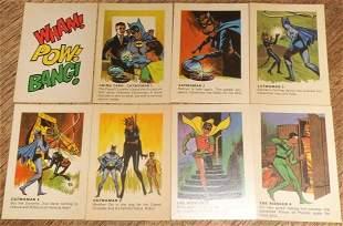BATMAN WEETIES CARDS 1966