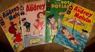 LITTLE AUDREY & LITTLE DOT