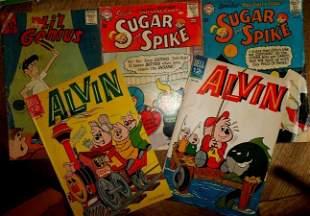 ALVIN, SUGAR & SPIKE