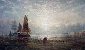 231: Adolphus Knell (fl. 1806-1890) - Oil painting - Ha