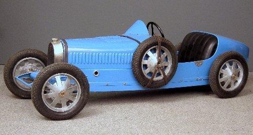 """569: A half scale replica of a Baby Bugatti """"Type 52"""" R"""