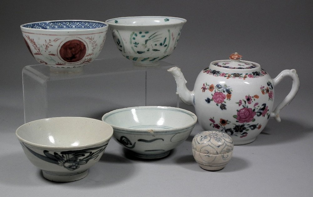 A small collection of Chinese and South East Asian cera