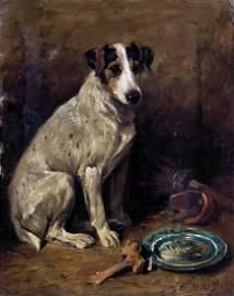 John Emms (1843-1912) - Oil painting - Portrait of a se