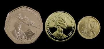 An Elizabeth II Guernsey gold Millennium Proof Battle