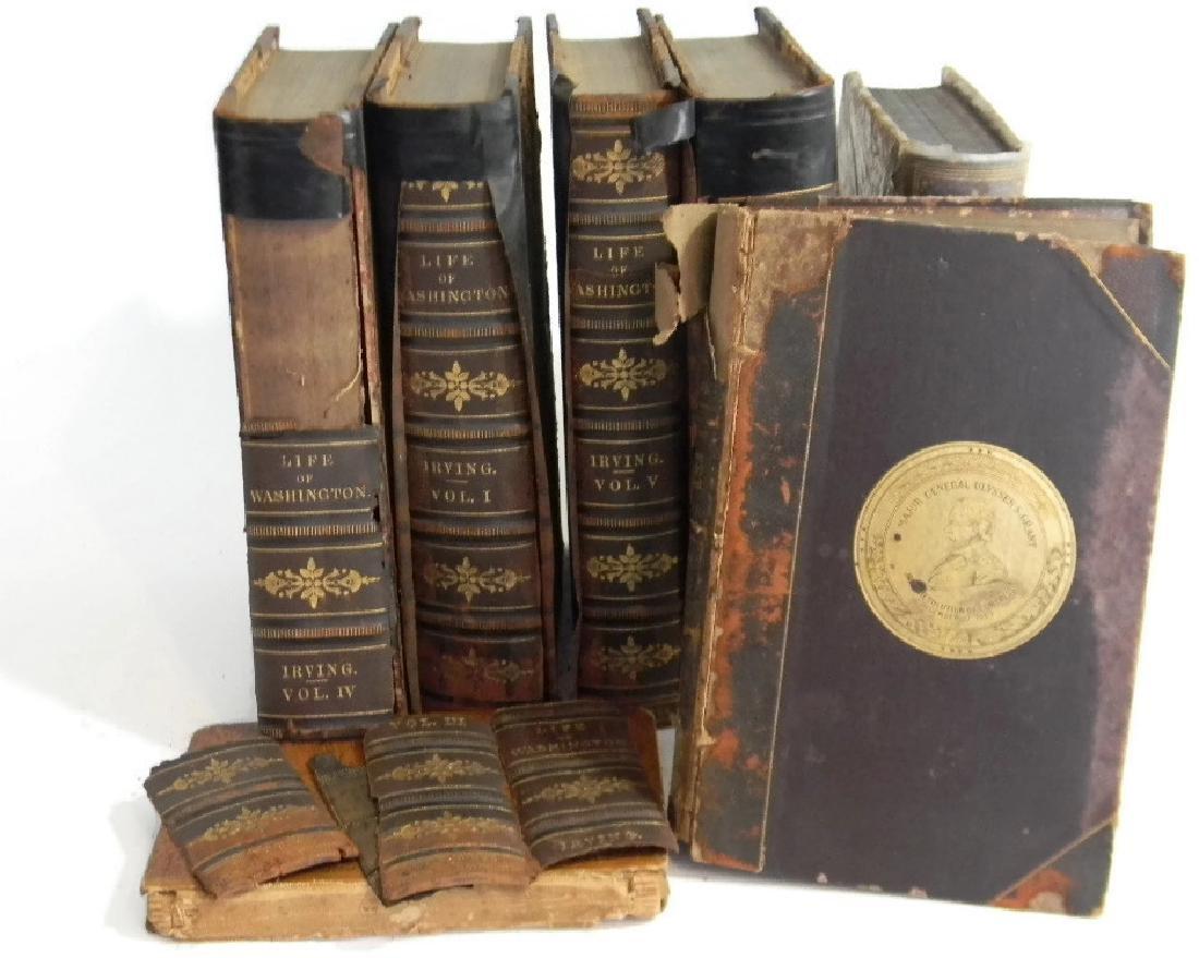 7 1ST ED BOOKS ON WASHINGTON, GRANT & US HISTORY - 3