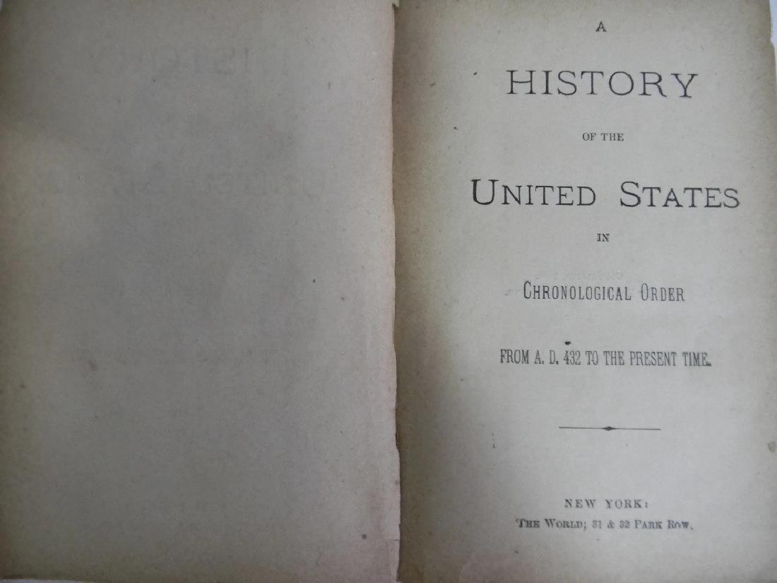 7 1ST ED BOOKS ON WASHINGTON, GRANT & US HISTORY - 9