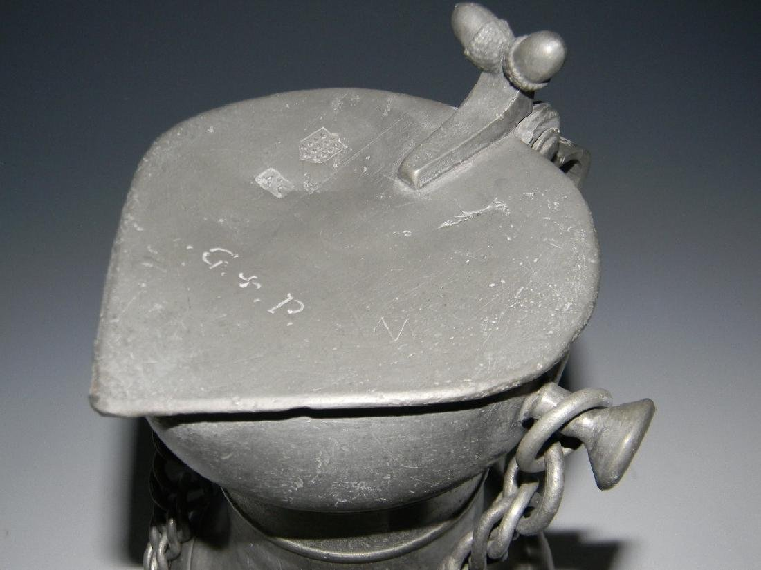 GROUP COLLECTION 18TH - 19TH C CONTINENTIAL PEWTER - 8