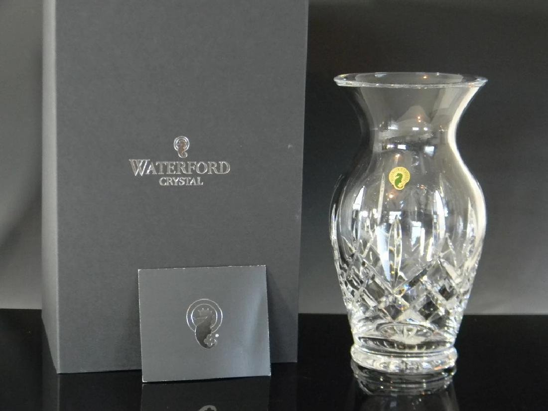 LARGE WATERFORD CRYSTAL LISMORE VASE