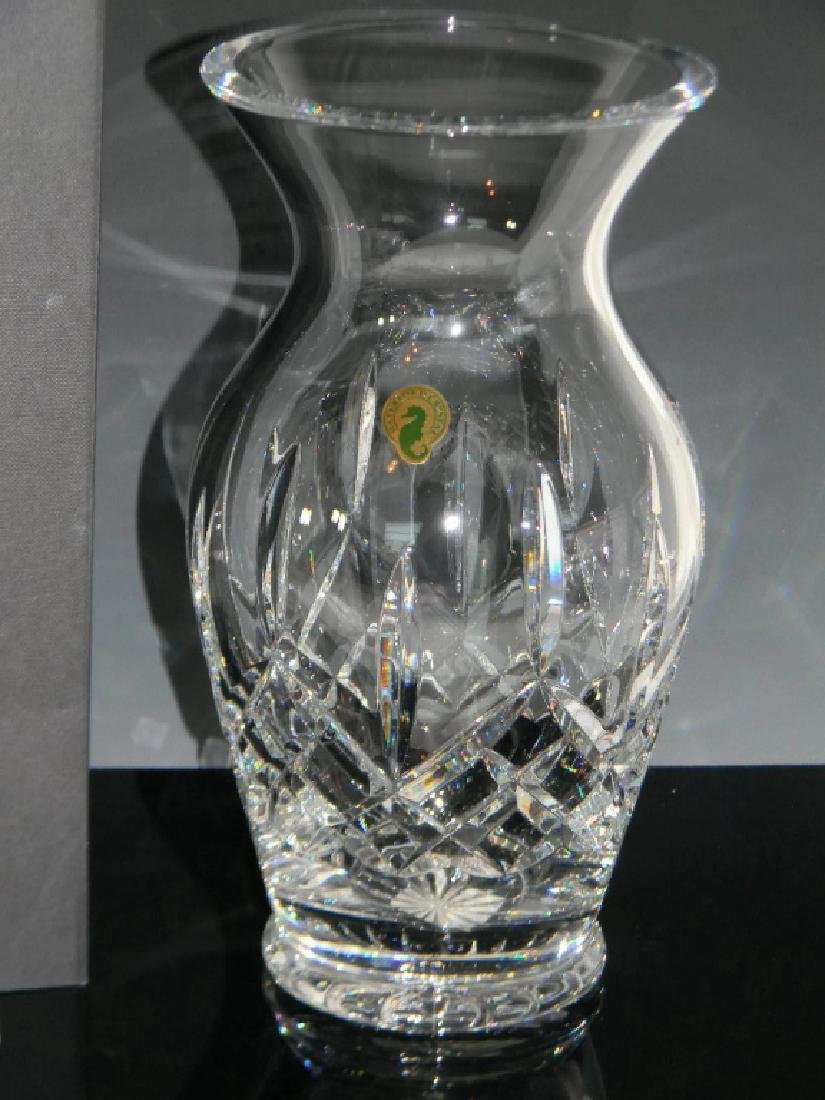 LARGE WATERFORD CRYSTAL LISMORE VASE - 2