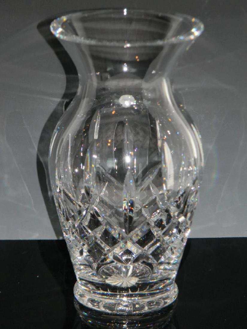 LARGE WATERFORD CRYSTAL LISMORE VASE - 4