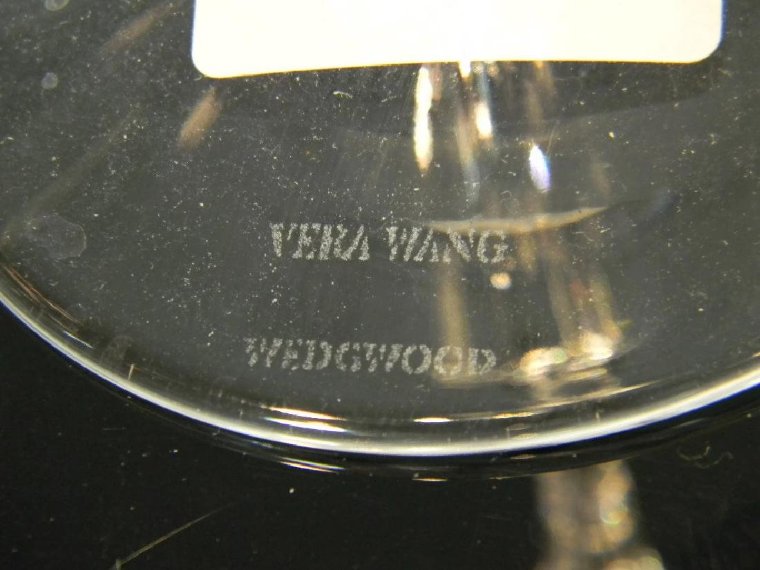 16 PCS WEDGWOOD VERA WANG CRYSTAL STEMWARE - 5
