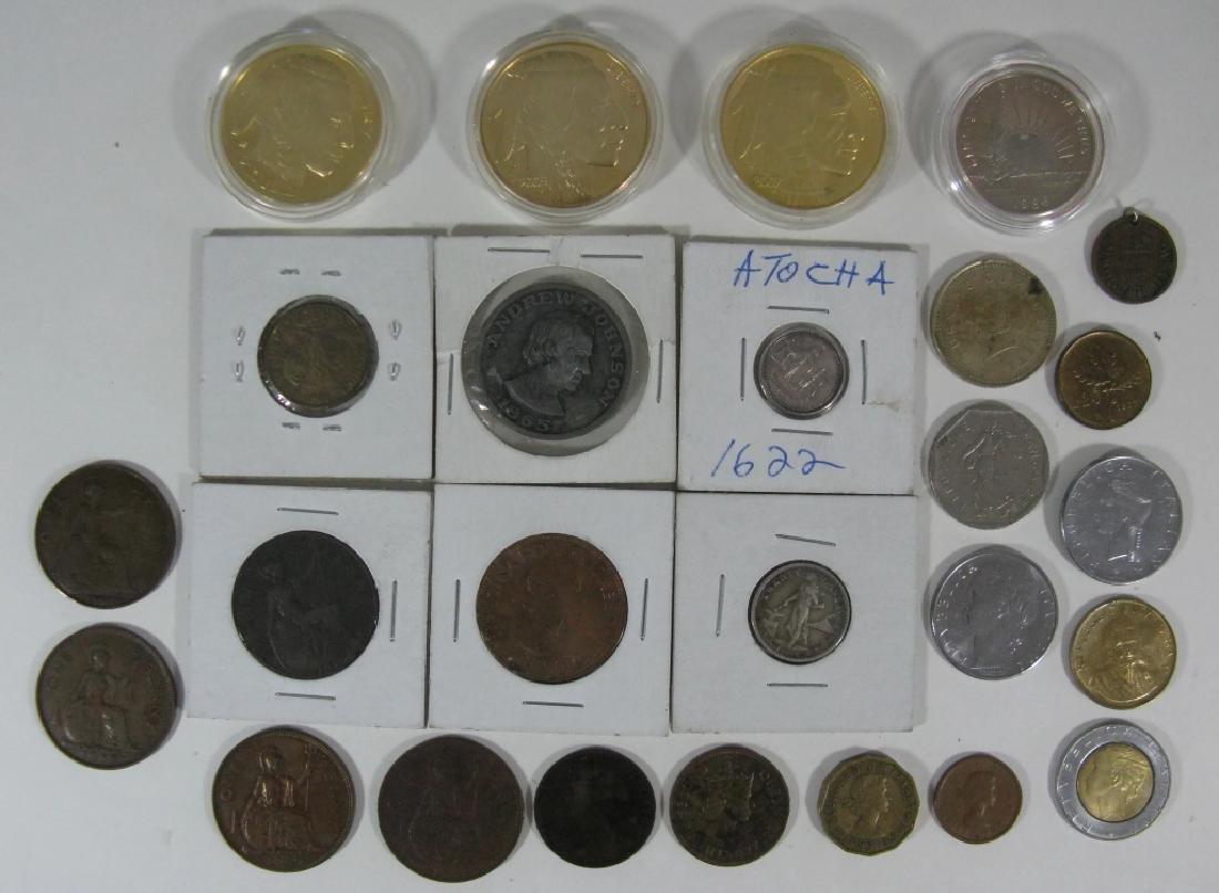 COINS COMMEMORATIVE, .999 ATOCHA, FANTASY & WORLD