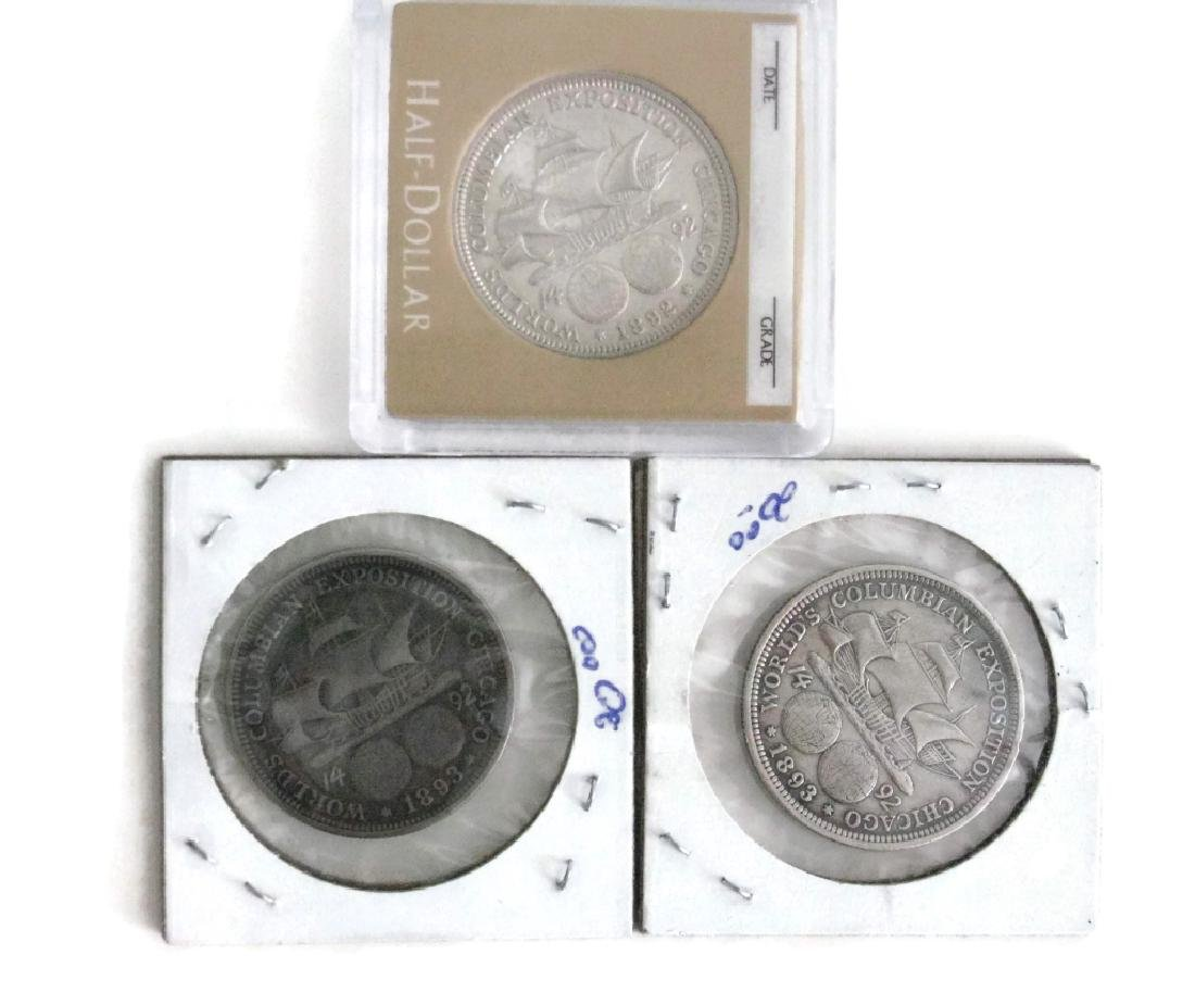1889, 92, 93 COLUMBIAN EXPOSITION COINS & MEDALS - 4