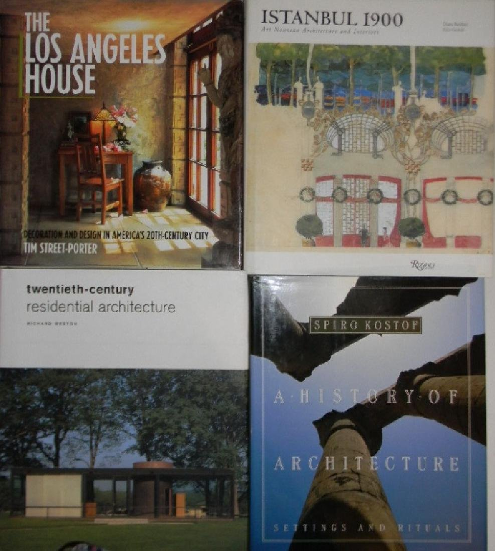 COLLECTION OF 4 ARCHITECTURE REFERENCE BOOKS