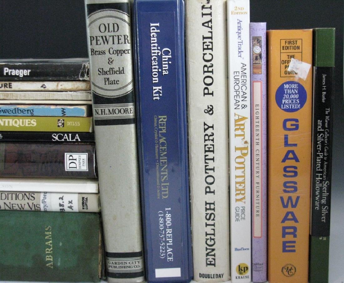 BOOKS FINE ART ARTISTS SILVER CERAMIC & FURNITURE - 4