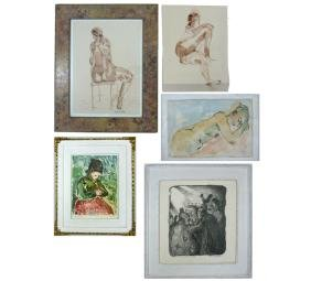 HERB LEE ARTIST ORIGINALS - PAINTINGS, LITHOGRAPH
