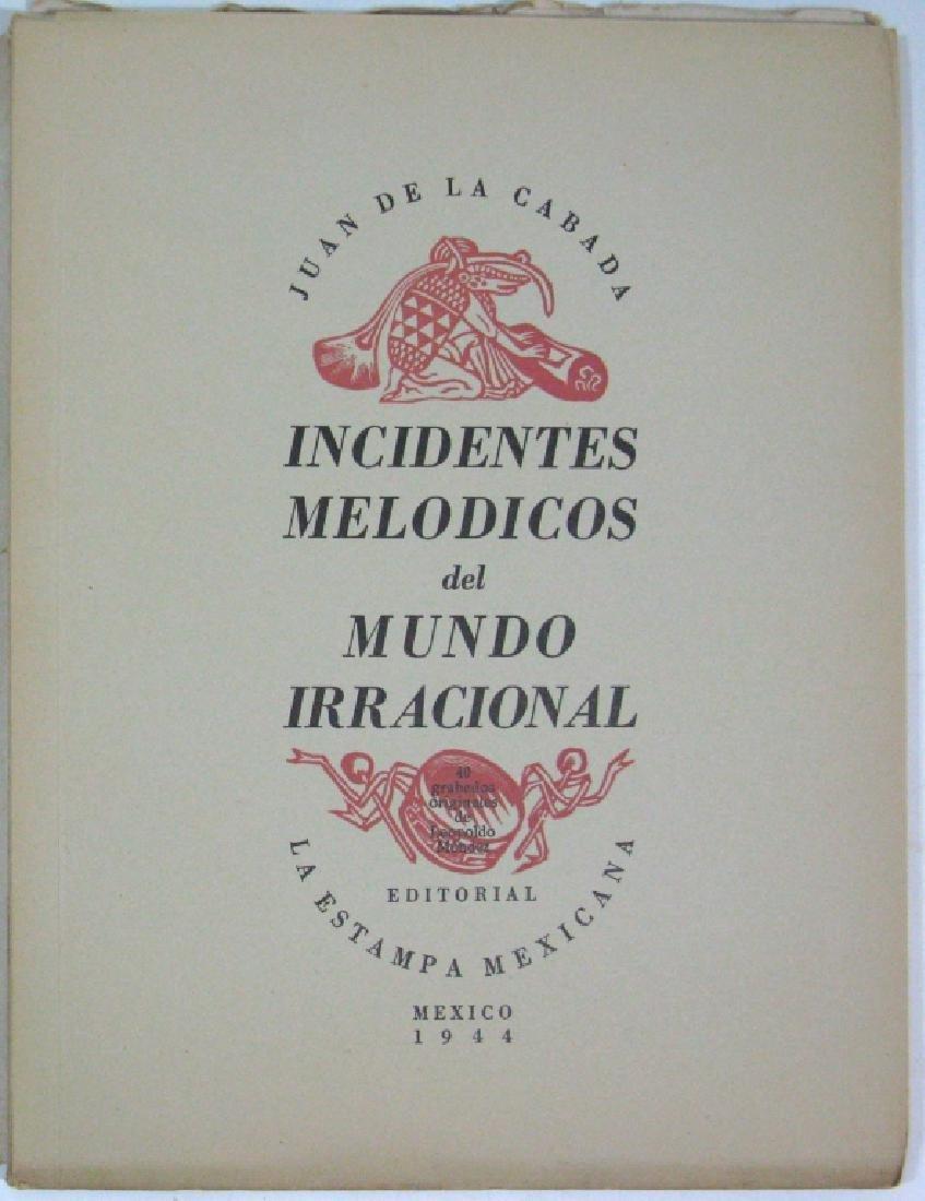 1944 DE LA CABADA INCINDENTES MELODICOS MUNDO - 4