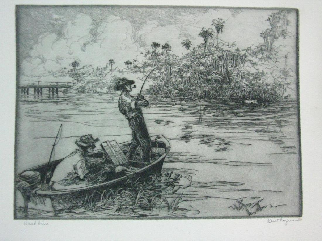 7 KENT HAGERMAN SIGNED INTAGLIO ETCHINGS - 10