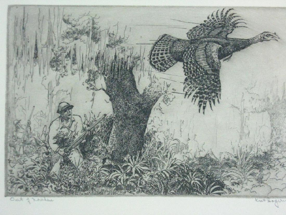 7 KENT HAGERMAN SIGNED INTAGLIO ETCHINGS - 9