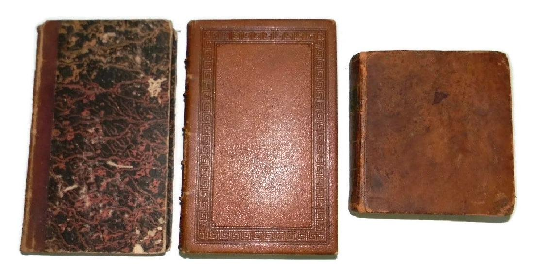 3 EARLY 19TH C FINE ART & LANGUAGE DICTIONARIES - 2