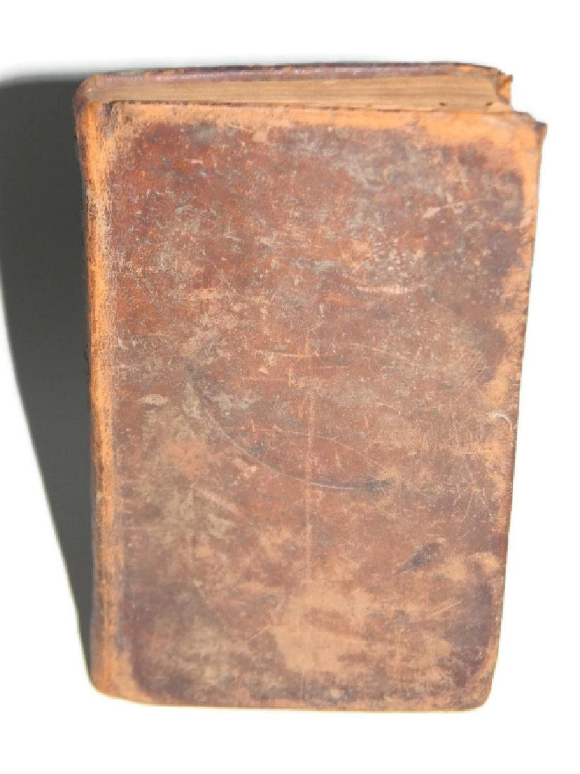 1842 THE LAST DAYS OF POMPEII VELLUM BINDING +1 - 5