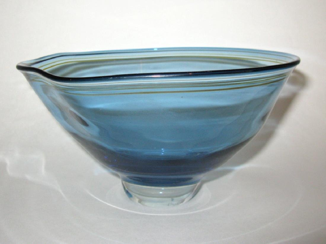 JAMES KINGWELL ICEFIRE GLASS BOWL - 6