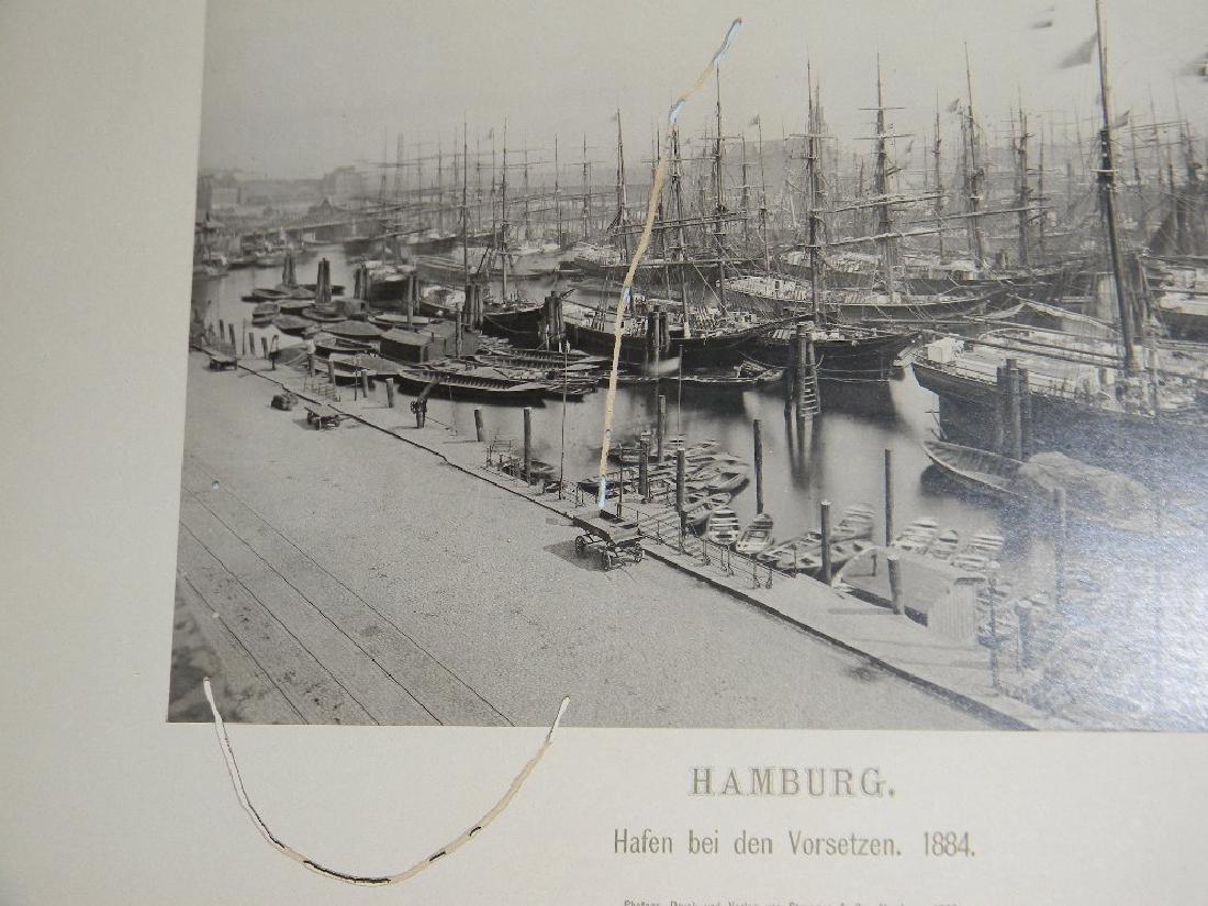 1888 SOUVENIR PHOTOGRAPHS HAMBURG GERMANY - 10