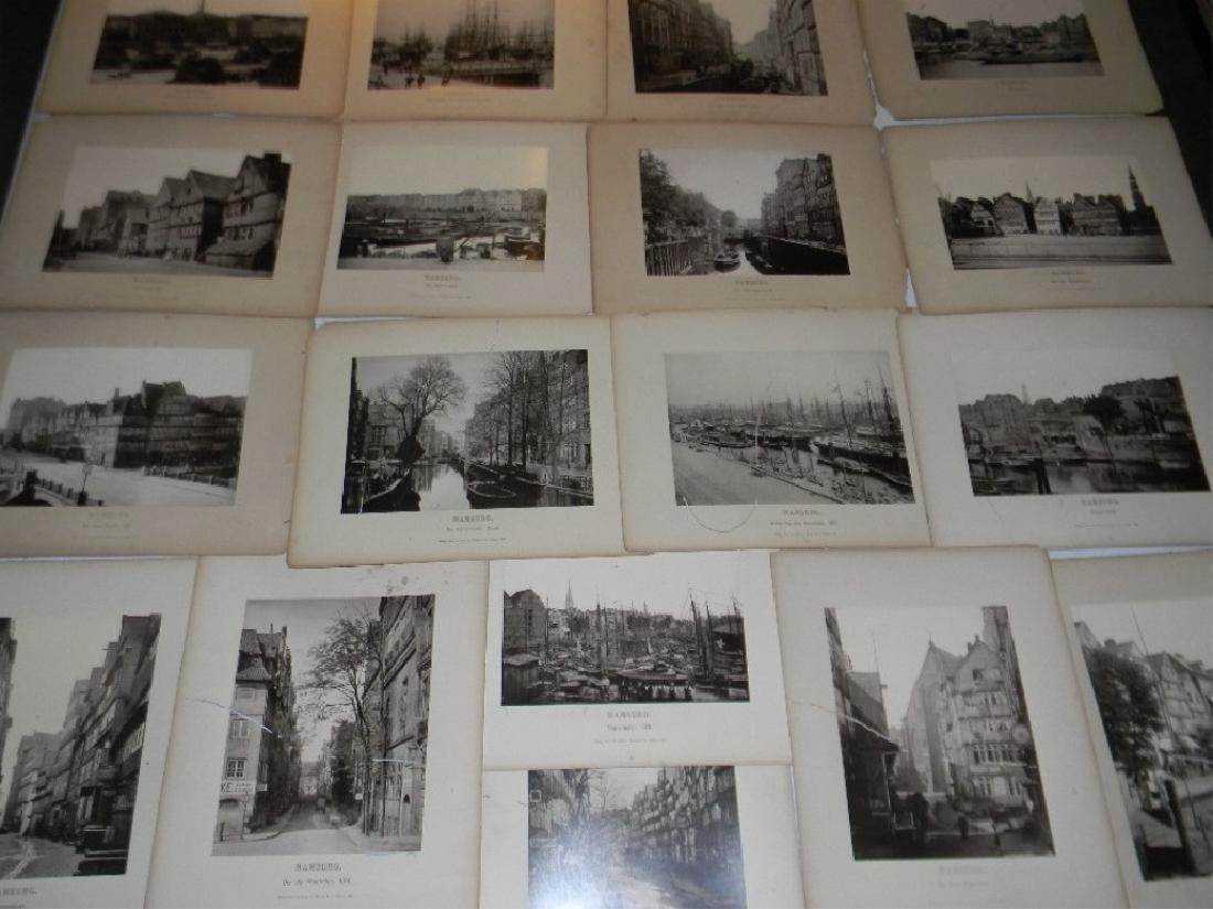 1888 SOUVENIR PHOTOGRAPHS HAMBURG GERMANY