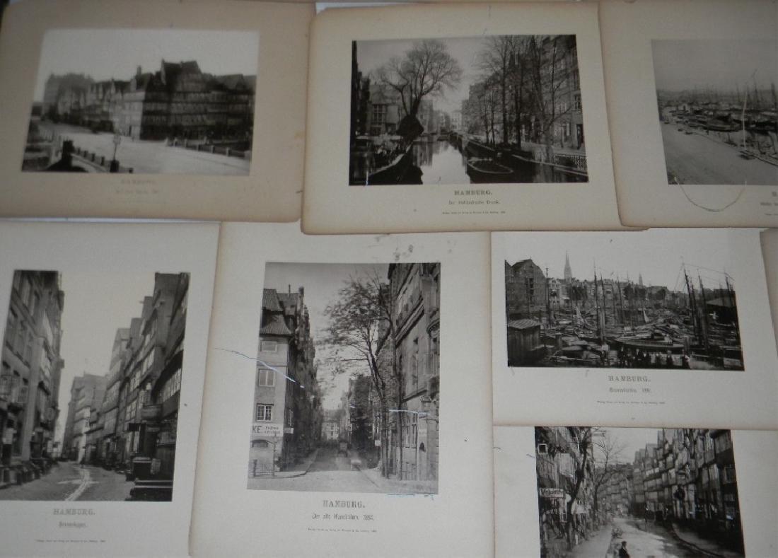 1888 SOUVENIR PHOTOGRAPHS HAMBURG GERMANY - 2
