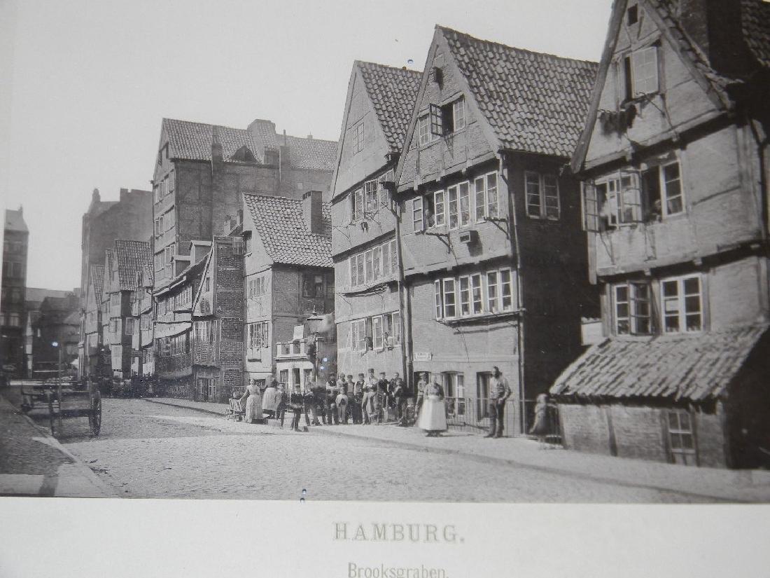 1888 SOUVENIR PHOTOGRAPHS HAMBURG GERMANY - 7