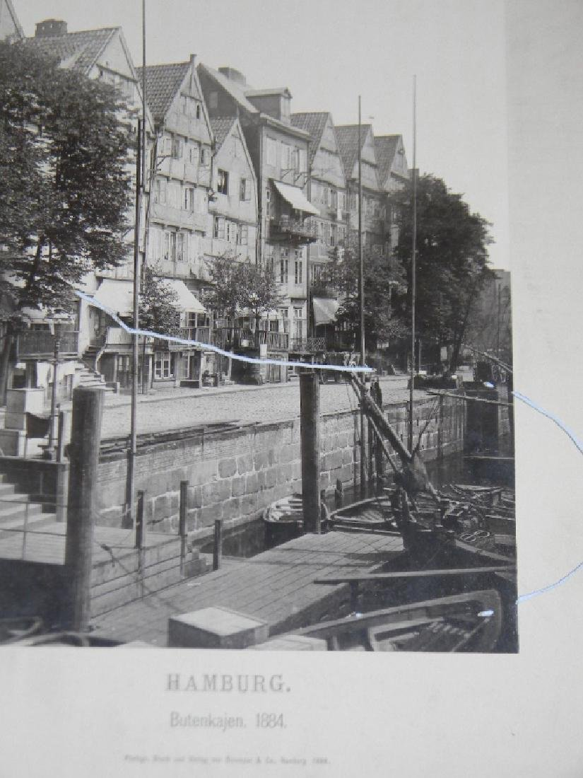 1888 SOUVENIR PHOTOGRAPHS HAMBURG GERMANY - 8