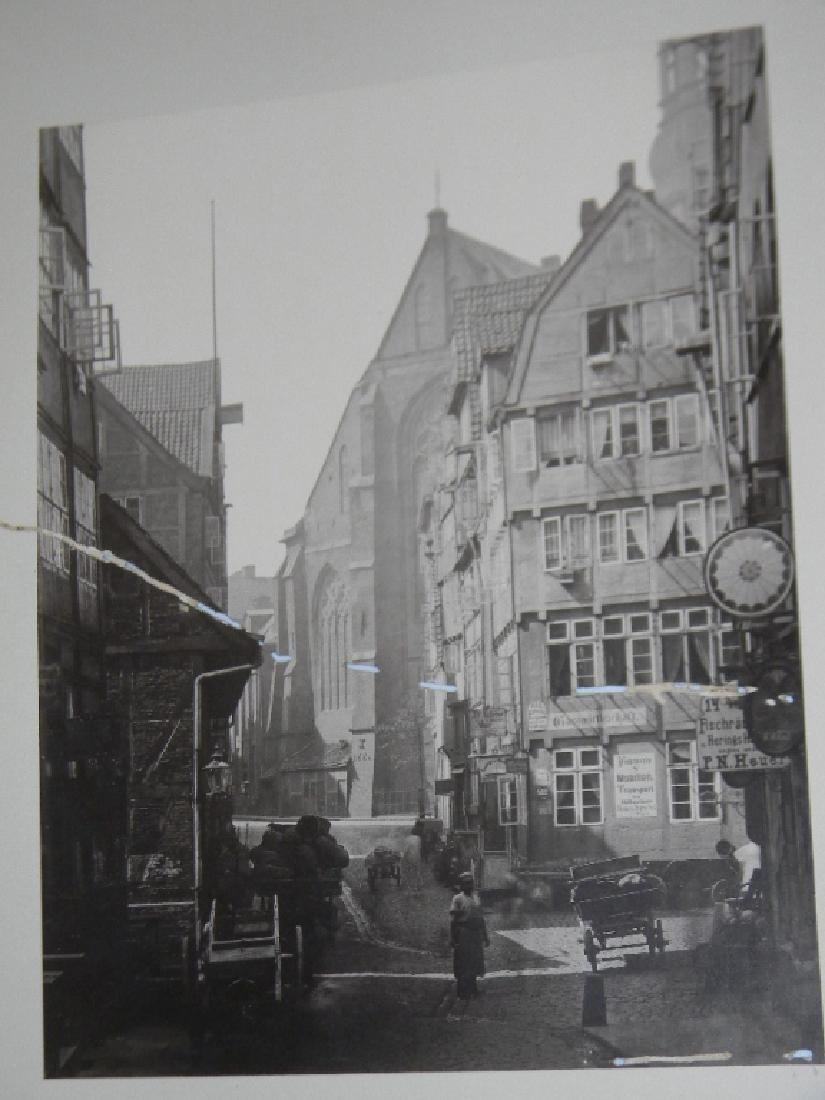 1888 SOUVENIR PHOTOGRAPHS HAMBURG GERMANY - 9