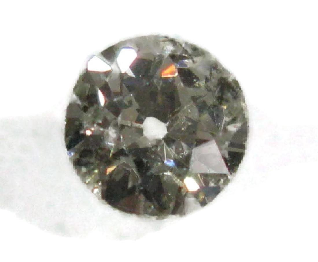 1 CARAT FACETED ROUND LOOSE DIAMOND