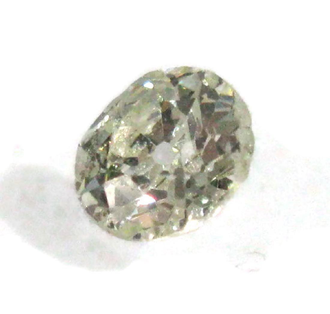 1 CARAT FACETED ROUND LOOSE DIAMOND - 2