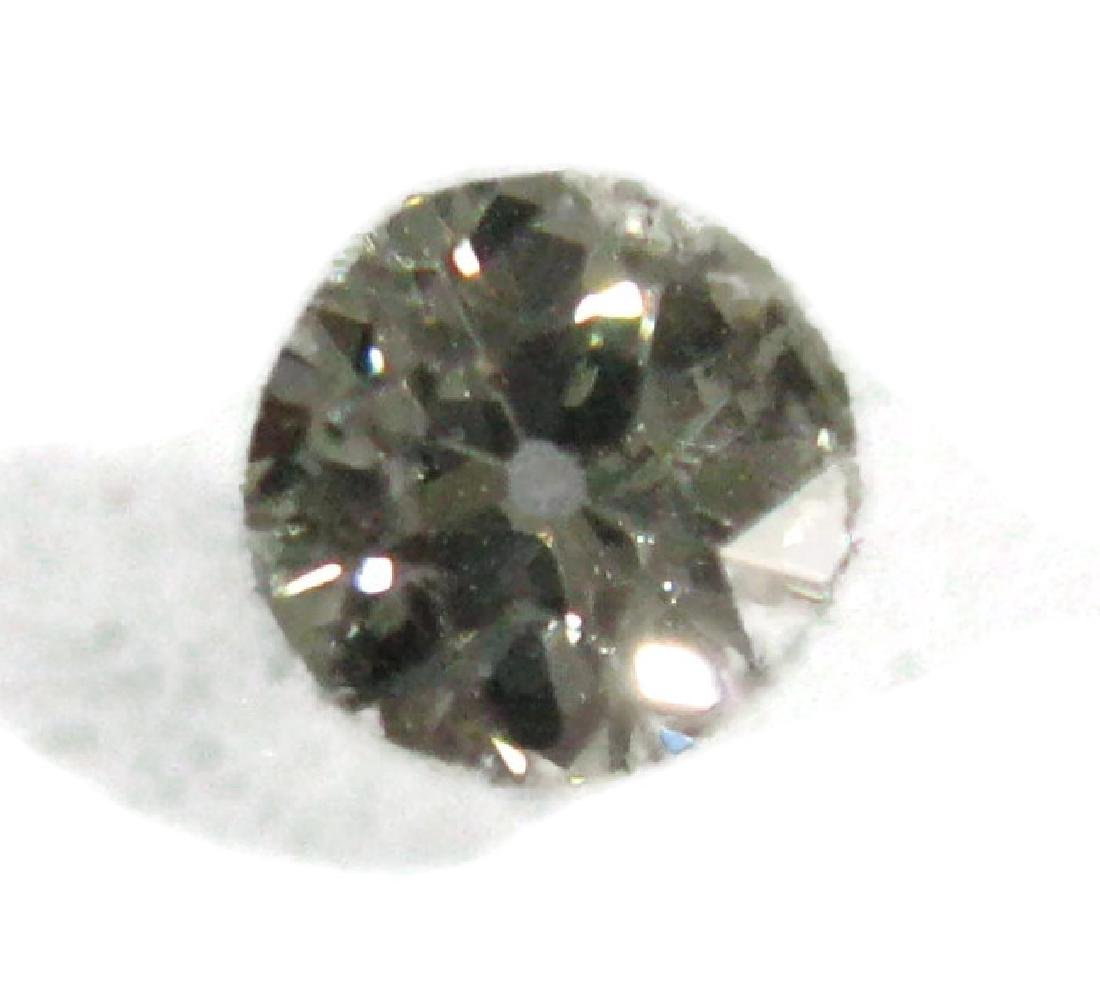 1 CARAT FACETED ROUND LOOSE DIAMOND - 3