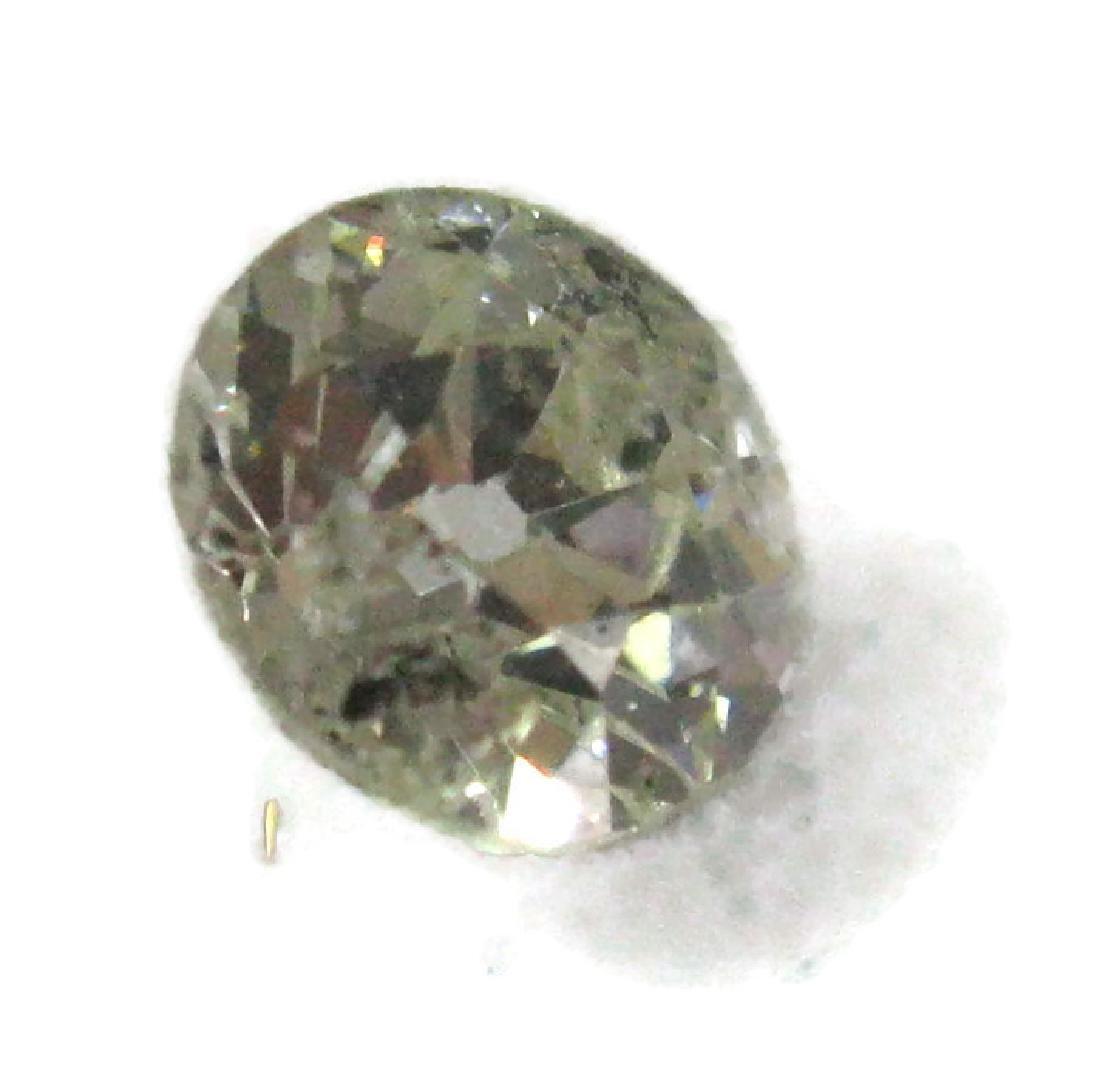 1 CARAT FACETED ROUND LOOSE DIAMOND - 4