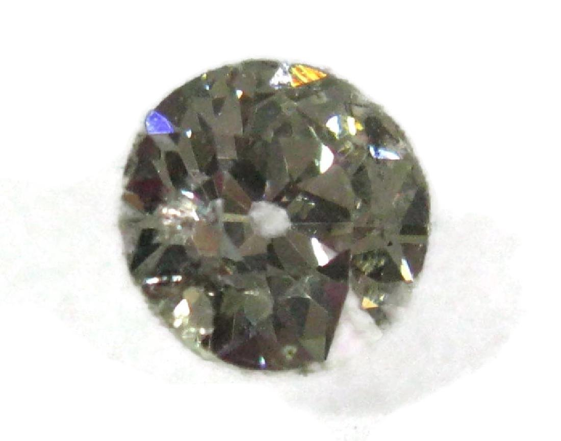 1 CARAT FACETED ROUND LOOSE DIAMOND - 5